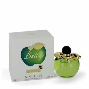 Detalles de Perfume Mujer NINA RICCI Bella Eau De Toilette Vaporizador 80ML Nuevo