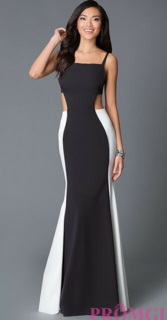 jovani black and white dress – Little Black