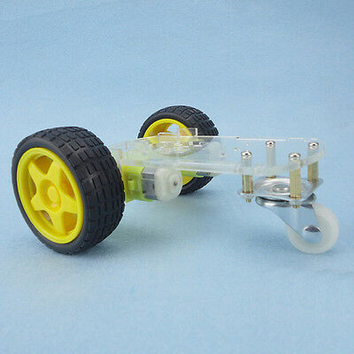 1Set Mini 2WD Single-Deck Smart Robot Car Chassis DIY Kit for Arduino Good