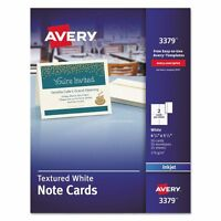 Avery Textured Note Cards - Ave3379 on sale