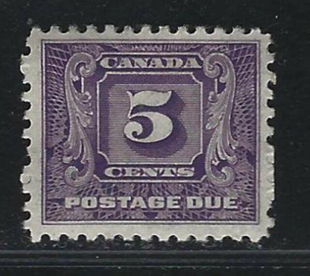 1930 Canada Scott #J9 - 5¢ Postage Due Stamp - MH
