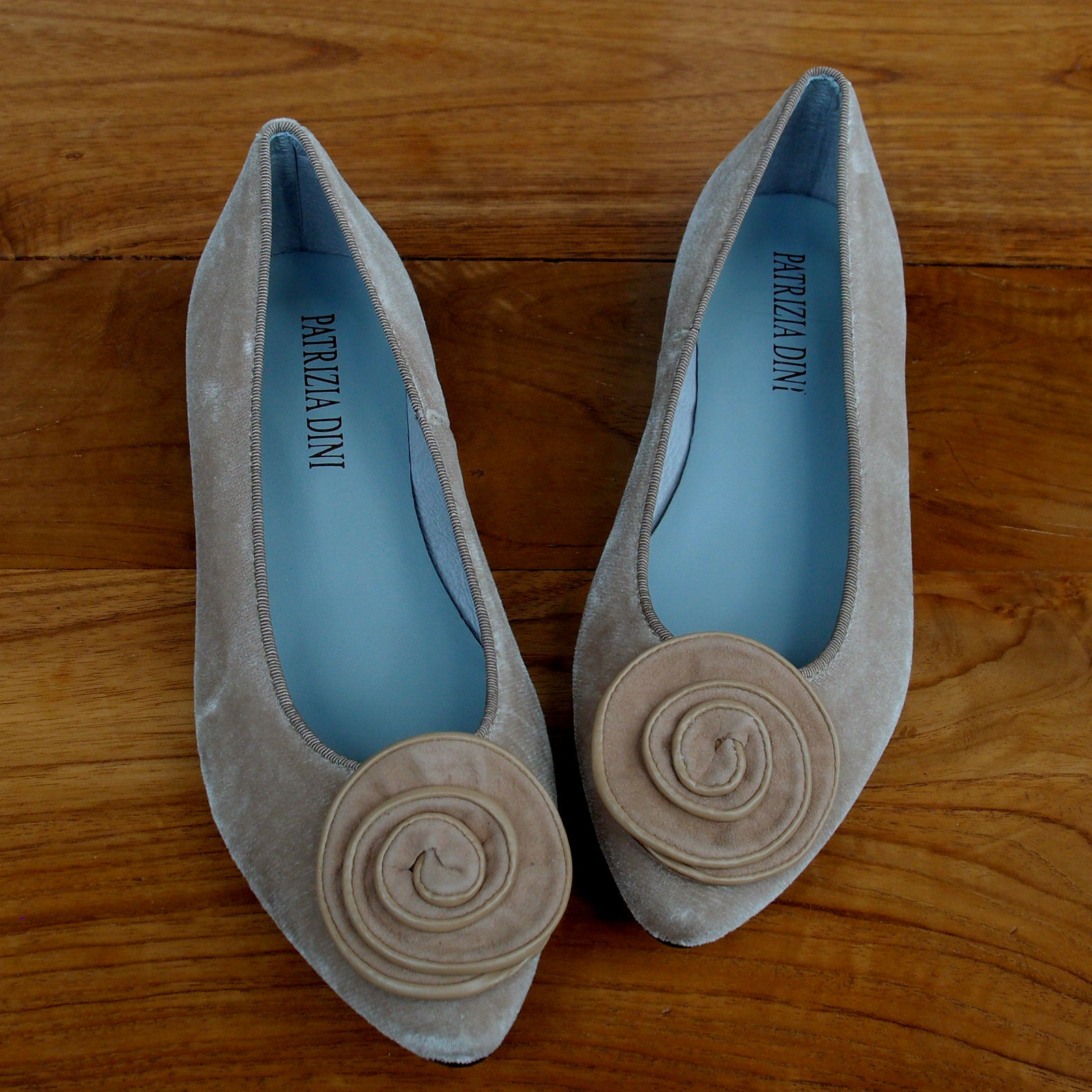 Patrizia Scarpe Natura Donna Slipper Velluto Heine Dini Ballerina rB6F4r