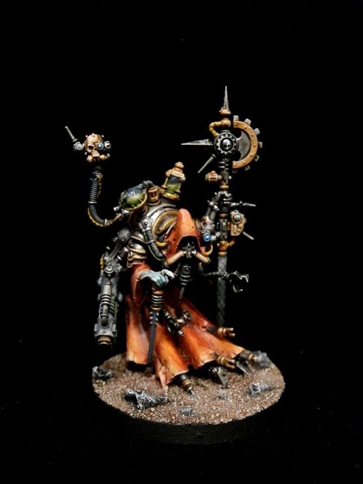 bellissima PRO-PAINTED Adeptus Mechanicus Tech-Priest Dominus Kill squadra COMMISSION 1 1 1 modellolo  prezzo all'ingrosso e qualità affidabile