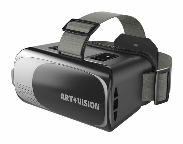 "Art+vision Virtual Reality Vr Headset 3d Glasses,works With All Smartphones 4.7"" Elegante Vorm"