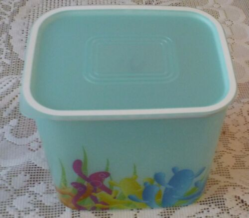 Tupperware Quadro mit Meeresdesign NEU 2,1 l