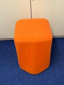 Orange Boss Hoot Modular FSC Slotting Stool Nugget Seat Reception Playroom
