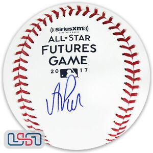 A.J. Puk Oakland Athletics Signed Autographed 2017 Futures Game Baseball USA SM