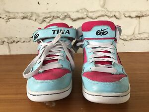 Nike ID Air Mogan 6.0 Mid 2 Womens Shoes Size 7.5 High Tops 418439-991