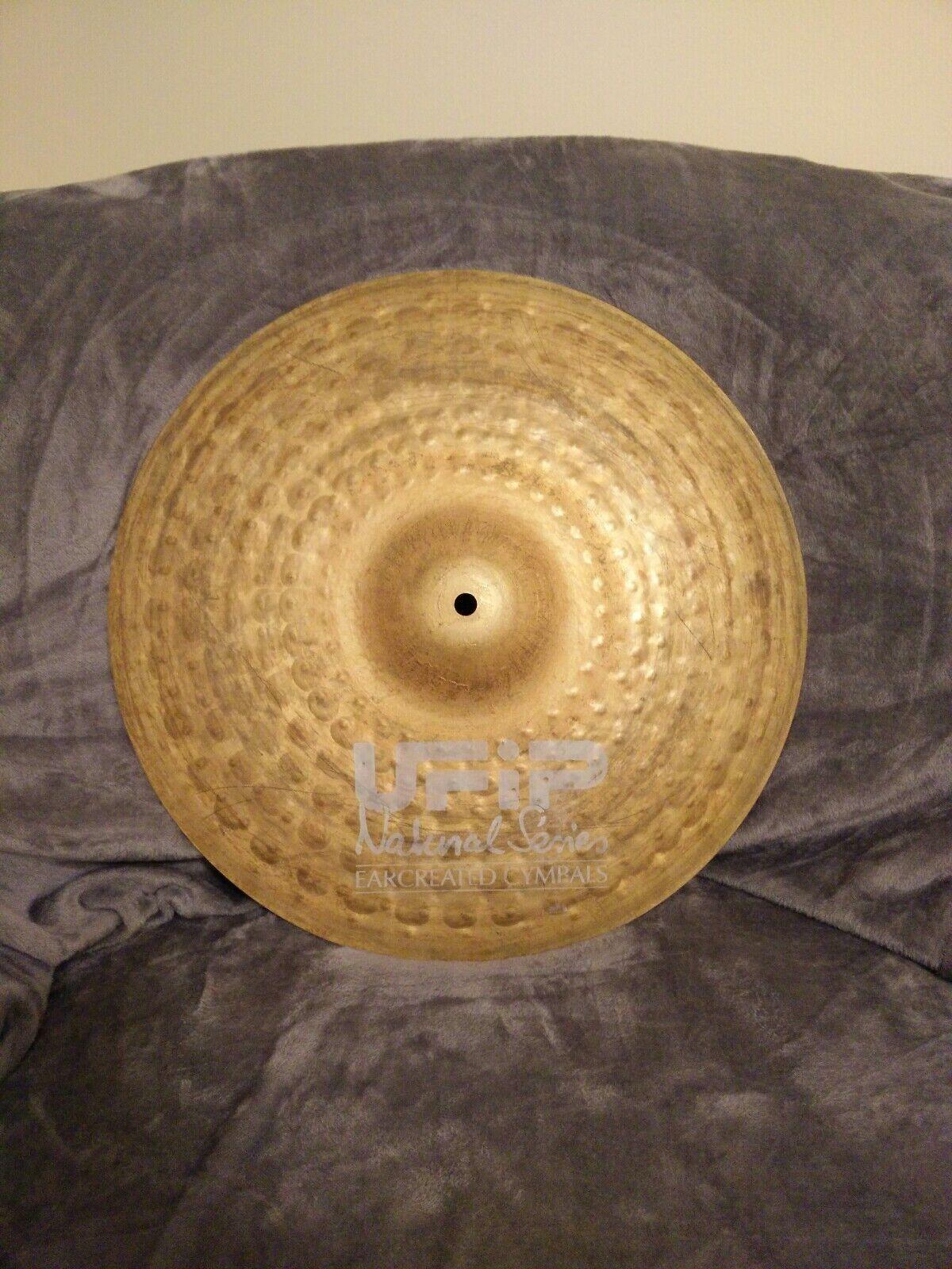 UFIP 16  Natural Crash Cymbal, Weiß Logo