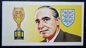 Sir Alf Ramsey   England World Cup Manager    Vintage Colour  Card   EXC - Melbourne, Derbyshire, United Kingdom - Sir Alf Ramsey   England World Cup Manager    Vintage Colour  Card   EXC - Melbourne, Derbyshire, United Kingdom