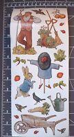 21 Beatrix Potter Peter Rabbit Big Stickers Mr Mcgregor's Garden Baby Scrapbook