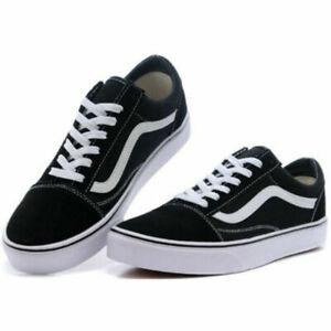 Details about VAN S1 Old Skool Damen Herren Canvas Sneaker Freizeitschuhe Skate Schuhe !~!!