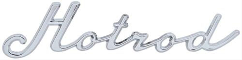 """S6274 /""""Hotrod/"""" Trim Emblem"""
