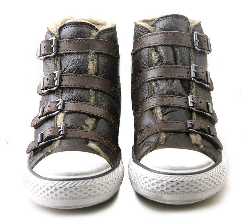Ash  Virginy Sneaker in Fango scarpe donna pelle fango