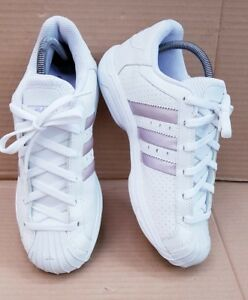 Rare Superstar Deadstock White talla en Adidas Trainers Lilac 5 5 Toe Shell Uk 1dOw7
