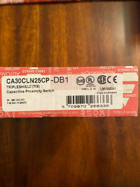 Carlo Gavazzi EC3025TBAPL  Capacitive Proximity Switch  *NIB*