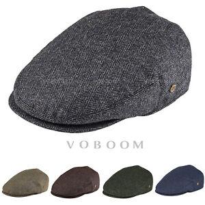 Casquette homme lierre 50% laine à chevrons chapeau d'hiver casquette gavroche
