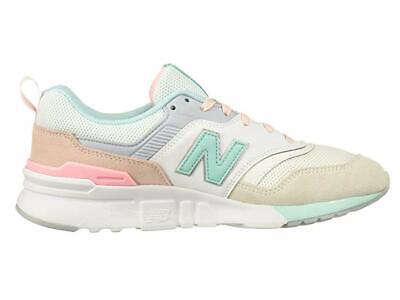 New Balance Women/'s Classic 997H Shoe CW997HBA Sea Salt with Light Tidepool