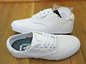 Details about Vans Mens Chima Ferguson Pro Twill Whiteout Canvas Skate Casual Shoes Size 7.5