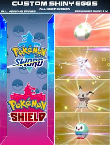 6IV Ultra Shiny Eiscue Pokemon Sword and Shield Square Shiny