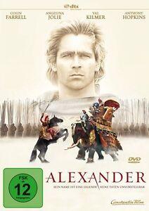 Alexander DVD NUOVO Anthony Hopkins/Angelina Jolie/Colin Farrell/+