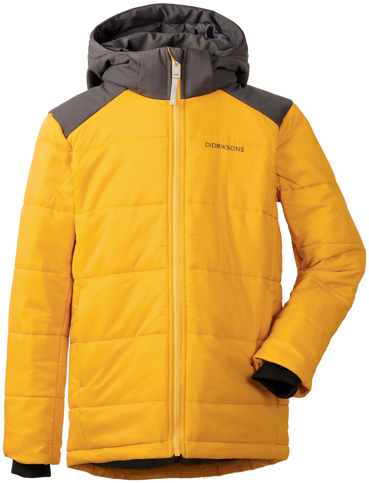 Didriksons Outdoorjacke Jacke Even Boy's Jacket  gelb winddicht wasserabweisend