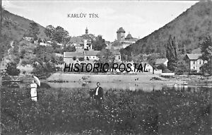 KARLUV-TYN-CZECH-REPUBLIC-PHOTO-POSTCARD