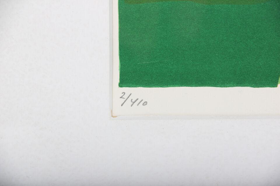 Hans Voigt Steffensen, f. 1941. Høstlandskab i...