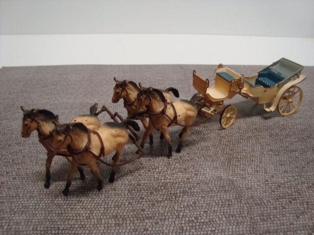 Pfuit o10 vis à vis Gran Gala Nuziale diligence 4 chevaux d'occasion bon état
