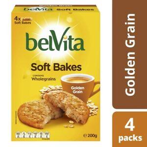 Belvita Golden Grain Soft Bakes Biscuit 200 gram
