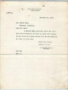 1922-ODESSA-DELAWARE-DE-ELECTRO-COMPANY-EDWARD-HART-TOWNSEND-MIDDLETOWN-PHONE