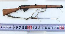 TI-LITE 1:6 Scale WWII British Lee-Enfield Mk III Wood & Metal Rifle w/ Bayonet