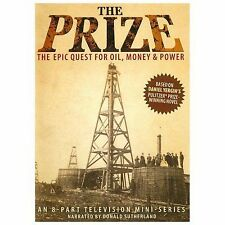 Prize: The Epic Quest for Oil, Money & Power - Series (DVD, 2013, 2-Disc) - NEW!