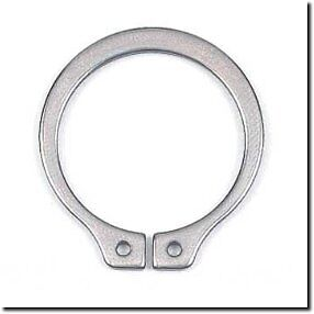 RACING GO KART AXLE SNAP RING 1.0 INCH DRIVE SHAFT CLIP RETAINER 1 ONE  STEEL