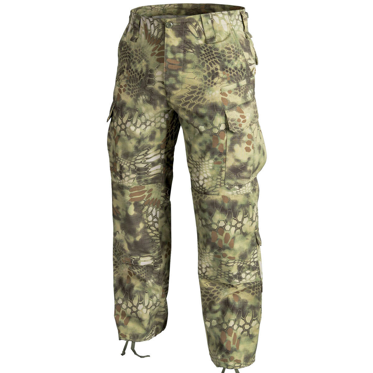 Helikon-CPU Militär-Patrouille-Herren-Hosen Cargo Pants Kryptek Mandrake zu bekä