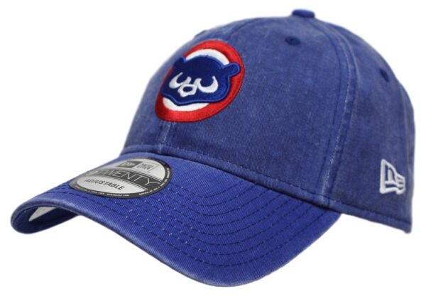d9b17a64ea7 Chicago Cubs New Era MLB 9Twenty  Cooperstown Rugged Ballcap  Adjustable Hat