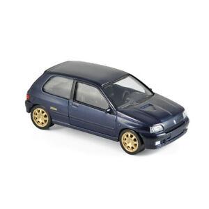 Norev-517522-Renault-Clio-Williams-dunkelblau-1993-Jet-Car-Massstab-1-43-NEU