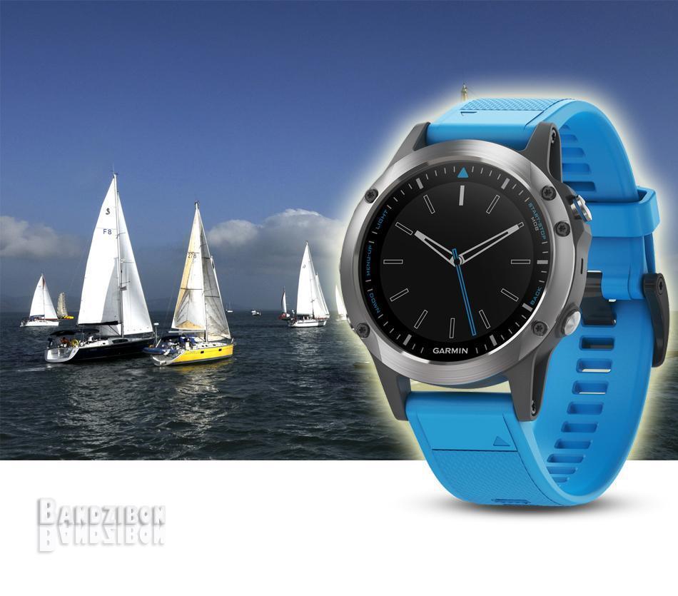 Garmin Quatix 5 Marine GPS Smart Watch Diving Swimming Running Sailing Triathlon