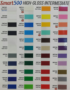 """12/"""" x 50yd 6yr outdoor sign vinyl film craft hobby decals plotter COLORS"""