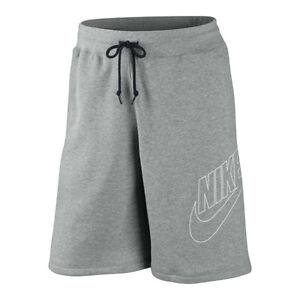 31f11780090931 New Mens Nike Fleece Shorts, Jogging Shorts, Long Sport Gym Shorts ...