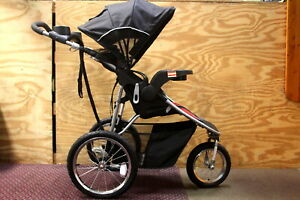 Optic Red Baby Trend Pathway 35 Jogger Stroller