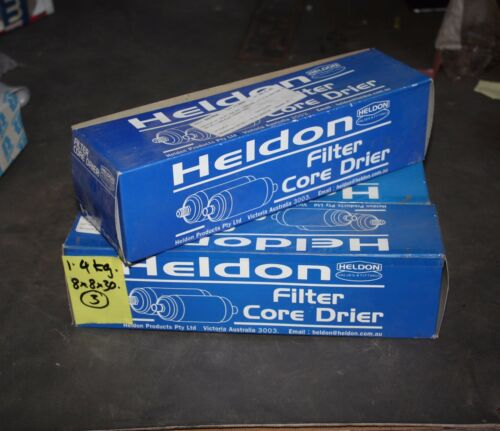 HELDON SOLID FILTER CORE DRIER 3000-304 304 FLARE 1/2 MSAE 3 DIA - lot of 3