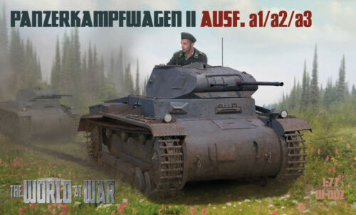 a1//a2//a3 Die Welt im Krieg W-002 Pz.Kpfw II Ausf