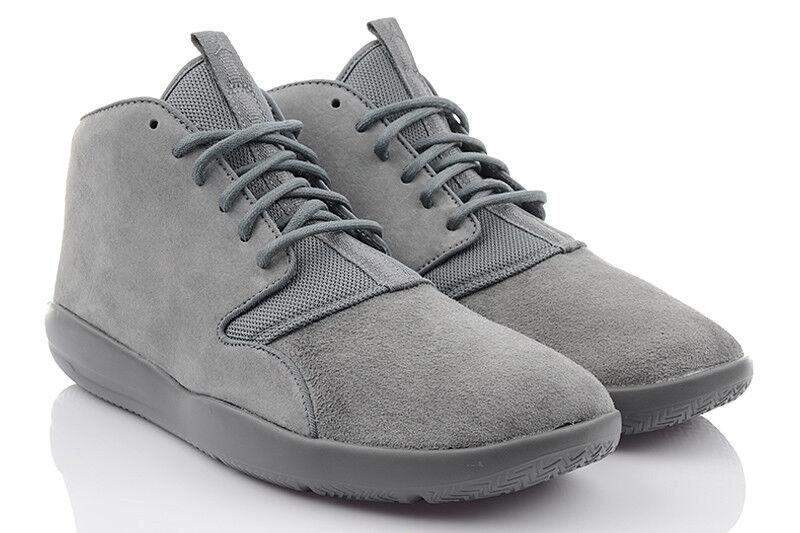 Nike Jordan Eclipse Chukka Herren Sneaker Turnschuhe Leder schwarz 40
