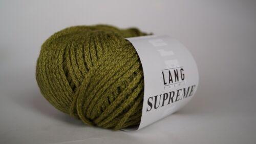 Supreme Lang Yarns 25 g Farbausverkauf