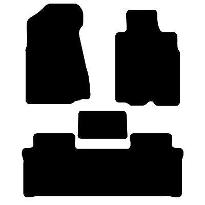Carsio Tailored Black Carpet Car Mats for Honda CRV 2002-2006 Manual