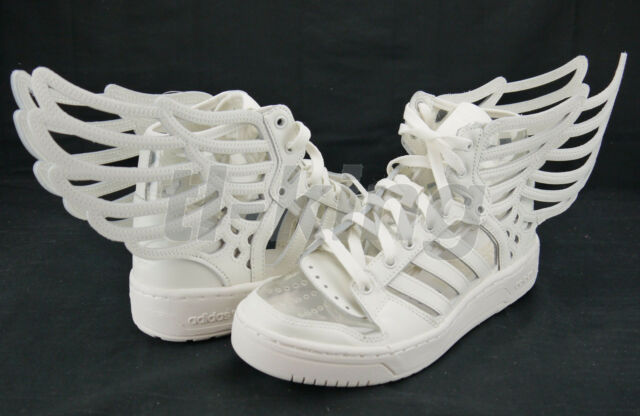 Adidas Originals ObyO JS Jeremy Scott Wings 2.0 Cutout White M29012