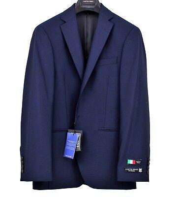 AUSTIN REED Mens Navy Birdseye Office Blazer Jacket Sizes 36 40 42 44 46 NEW