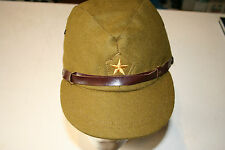 WW2 JAPANESE ARMY IJA OFFICER FIELD WOOL CAP   REPODUCTION