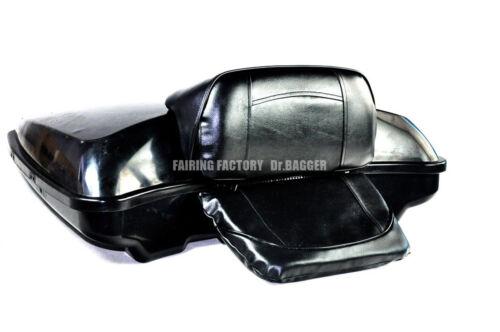 Backrest Pad Back Rest For Harley Davidson 2014 UP Razor Chopped King Tourpak